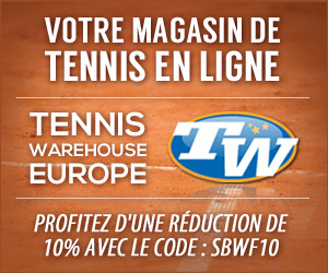 10% de réduction chez TennisWarehouse